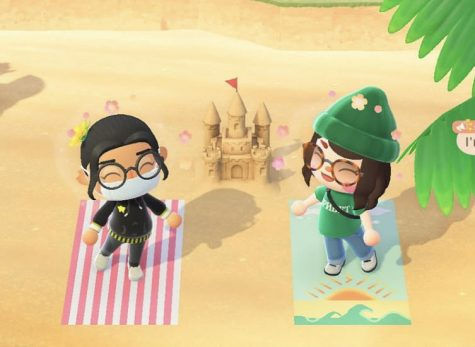 Animal Crossing New Horizons has given players all over the world the opportunity to bond and create a new virtual life for themselves amidst a time of social distancing. Junior Emma Wagner and I enjoyed a sweet sunny day at the beach during gameplay.