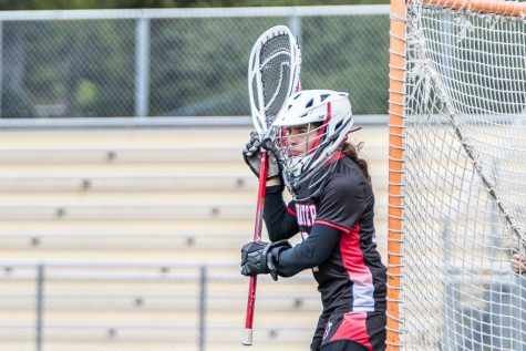 Game at Apple Valley, May 11, 2019.  Stillwater Alumni, Lainey Charlsen, playing her last year of highschool lacrosse before being recruited to Colorado Mesa for lacrosse.