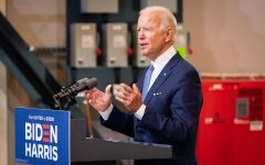 Biden and Trump have their first presidential debate. Interruptions from both candidates cause debate to spiral into chaos.
