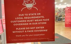 Home Goods in Woodbury has required masks upon entry into the store. This is what is posted on the entrance of the store. Masks need to be mandatory at all stores.