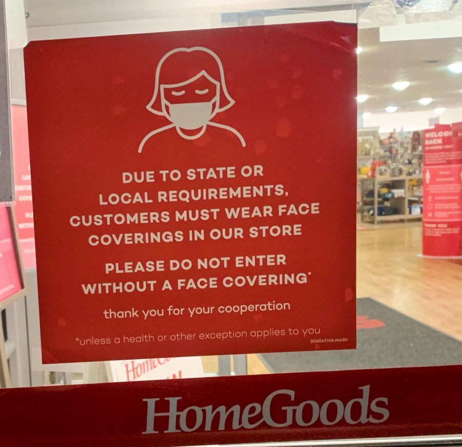 Home+Goods+in+Woodbury+has+required+masks+upon+entry+into+the+store.+This+is+what+is+posted+on+the+entrance+of+the+store.+Masks+need+to+be+mandatory+at+all+stores.%0A