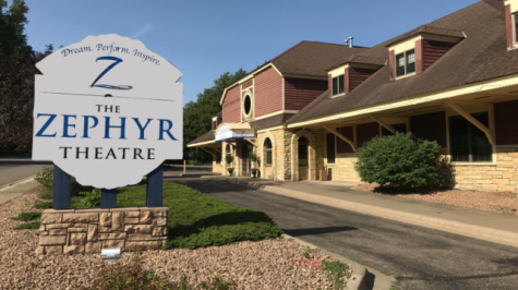 The Stillwater Zephyr Theatre, in Stillwater, MN. Where multiple plays and shows have been put on by the cast and staff, with Covid- 19 restrictions.