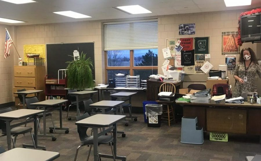 Calculus teacher Mrs. Nord