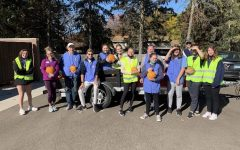 This fall the Key club participated in the Pumpkin Distribution event. They passed out pumpkins to members in the community. Emma Perpich, Cece Wallace, Izzy Caswell, Audrey Coleman, Kady Peltier and Breanna Tubs participated.