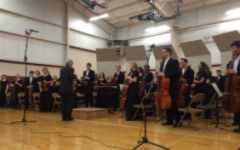 The high school's Concert Orchestra performed at SEC led by Orchestra Director Jerry Jones. The orchestra performed The Barber of Seville by Gioachino Rossini, Rhosymedre by Vaughan Williams and Firebird by Stravinsky.