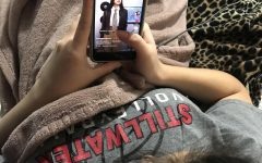 Emily Carrillo  scrolls through TikTok last night, coming across a Harry Potter related video due to it trending on social media platforms.