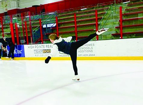 Sophie Privette balances two winter sports