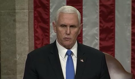 Vice President Mike Pence early Jan. 7 reads aloud the final tally of the Electoral College. It affirmed, even after an attack on the United States Capitol, that Joe Biden will be the President of the United States and Kamala Harris is the Vice President of the United States.