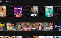 Netflix shows its top ten most popular content of 2021 so far.