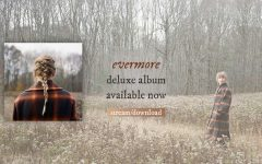 This is from Taylor Swift's website as she promotes the deluxe version of her new album, Evermore.