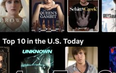 Netflix provides a list of the current most popular TV shows. Among them are The Crown and Criminal Minds.