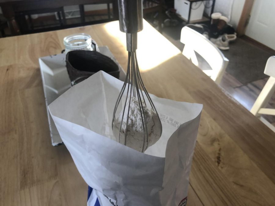 The TikTok whisk trick trend does work.