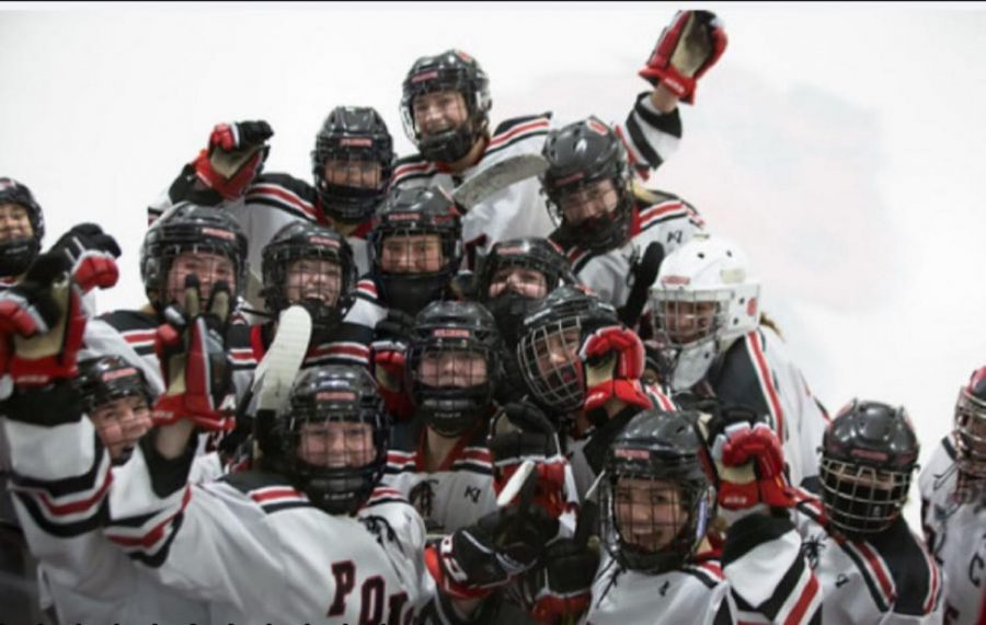 Stillwater girls hockey team season 2020-2021.