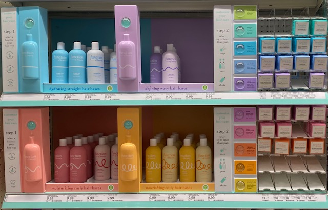 Each shampoo and conditioner is so popular, it is mostly gone.