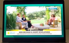 Oprah, Prince Harry, and Meghan Markle during their controversial interview. In which, a lot of unknown facts were brought to light.