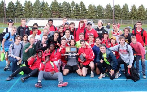 In May of 2019, the boys track and field team celebrates their true team section championship. This was the most recent time they competed.