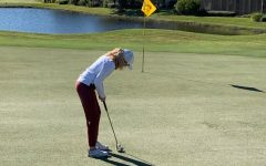 This photo was taken this past winter when Caroline was playing at Veranda Golf Course in Florida.
