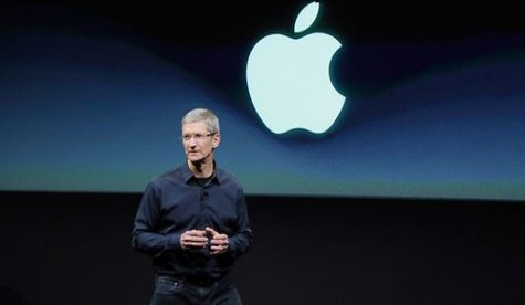 The IPhone 13 released by Apple on Sept. 14, 2021 at Cupertino, Calirfornia. CEO Tim Cook represents Apple and introduces the newest Apple products.