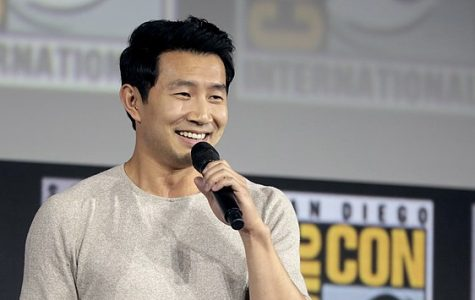 Simu Liu speaks at the San Diego Comic Con on July 20, 2019 in San Diego, California. Liu talks about how Shang Chi and the Legend of the Ten Rings brings together Asian culture, traditions, values and well renowned movie stars.